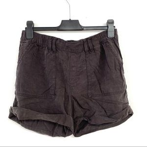 Lucky Brand High Waist Tencel Shorts